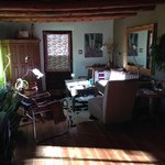 sunny living room in the morning