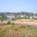 dumping ground behind hotel
