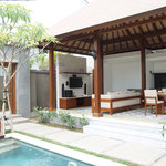 One Bedroom Private Pool Villas-Living Area