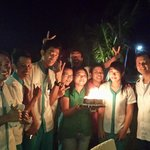Great evening sharing a birthday surprise with the Spice Beach Club Staff.