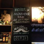 mojitos sold for Movember~