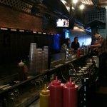 Seating area at Bar
