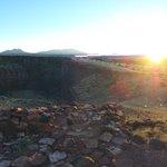 Sunset at the Citadel pueblo