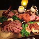 Elk, Lamb Chops, Pork Belly, Beef BBQ