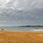 The beach near the hotel in november
