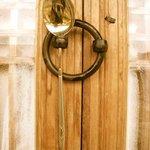 Old-school door lock