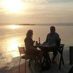 Romantic Sunset atmosphere Dining