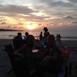 Sunset at Bayang cafe
