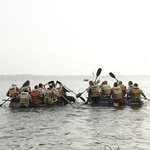 Rafting on Bolgoda Lake