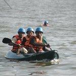 Kayaking on Bolgoda Lake
