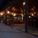 bar principal en soirée