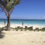 Cayenne private beach