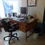 Reception area / office
