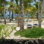 Vista desde el hotel a la playa