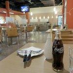 Restaurant's dining area