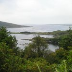 Wonderful coast of Connemara, in front of the hotel