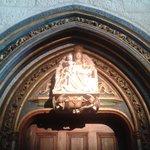 Detalle en alabastro de Gil de Siloe