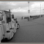 Front de mer à Deauville (halte du petit train)