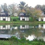 Waterside cabins