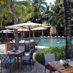 indigo restaurant and adjacent pool