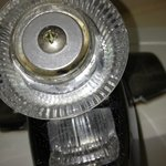 Bathroom faucet filth