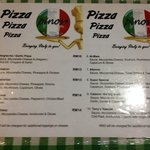 pizza menu. i could order anything