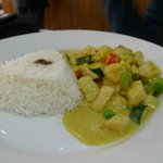 thai yellow curry chicken rice