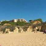 Beach with Auramar in background