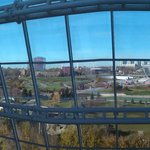 Panarama made from 3 photos, from inside balcony