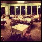 Dining room fine dining night