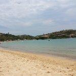 praia da Ferradura em frente ao hotel