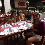 Esta foto é na parte do restaurante!