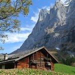 View Hiking to Grosse Scheidegg