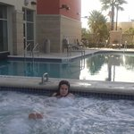 Hot tub.