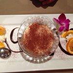 Tiramisu - beautifully presented and tastes just as fine ;)