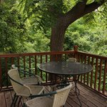 Views of the natural setting from each apartment deck