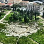Beautiful shot taken from atop the Acropolis.