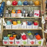 beautiful teapots in every shade!