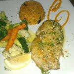 Main course - Sea bass (I think)