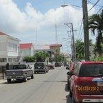 Downtown Belize City