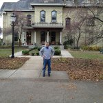 Me in front of the Inn