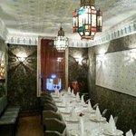 Notre salle du 1er étage pour vos repas d'anniversaires ou tout autre type d'événements.