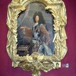 Portrait de Louis XIV  dans le salon Louis XIV