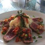 Delicious seared tuna