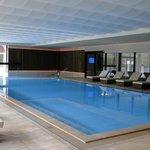 piscine dans le nouveau spa