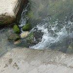 water still flow as in ancient Greek times