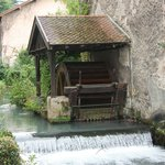 Vizille - Molino en los jardines del ''Château de Vizille''