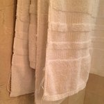 Over-used and frayed towels
