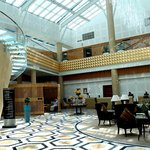 The main lobby at InterContinental Doha The City