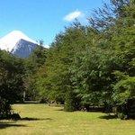 Volcan Villarrica desde el parque